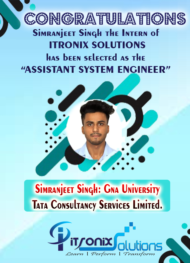 Itronix Solutions Placement